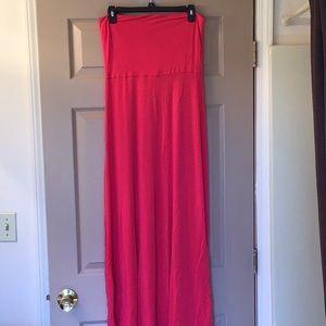 Mudd strapless maxi dress